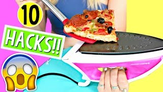 10 Life Hacks for LAZY College Students!! Back to School! Al...