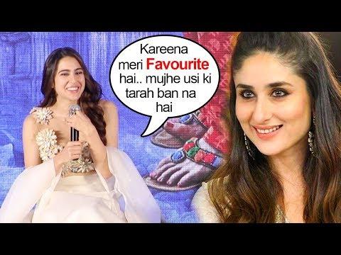 Sara Ali Khan Shows LOVE & Respect For Kareena Kapoor In Public