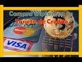 COMO COMPRAR BITCOIN (E OUTRAS MOEDAS) NA BINANCE COM CARTÃO DE CRÉDITO E DÉBITO VISA