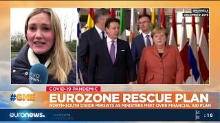 Eurozone rescue plan: North-South divide persists as ministers meet over financial aid plan