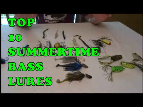 top 10 summertime bass fishing lures - youtube, Fishing Bait