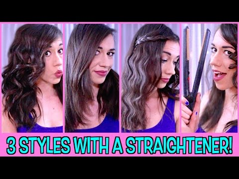 Get Curls And Waves With Straightener