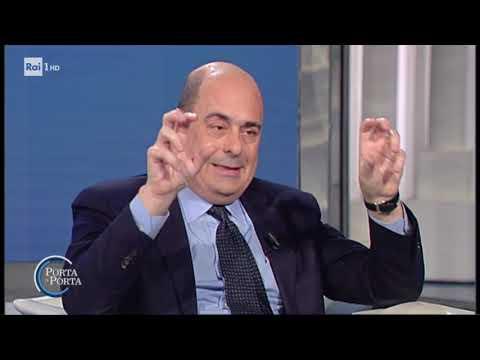 Zingaretti: 'è la grande occasione dell'Europa' - Porta a porta 04/03/2020