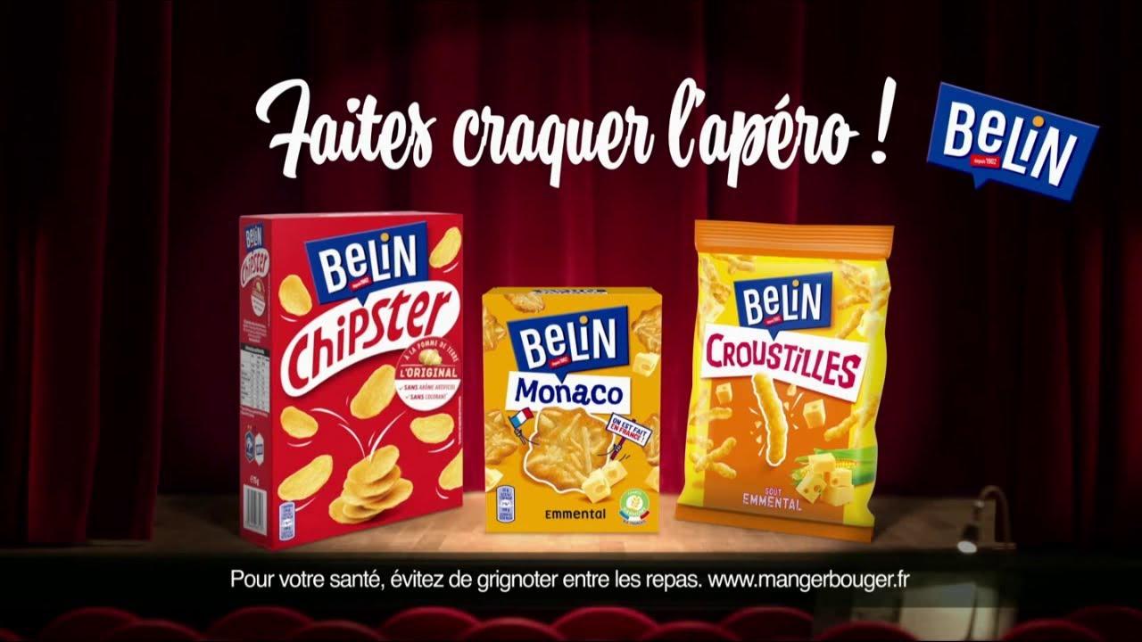 """Musique de la pub Belin présente Croustilles – Chispter – Monaco """"faites craquer l'apéro !"""" Pub 16s 2021"""