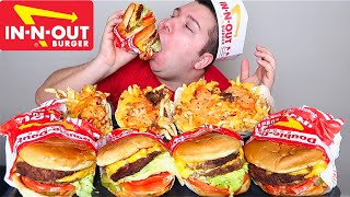 In-N-Out 4x4 Animal Style • MUKBANG