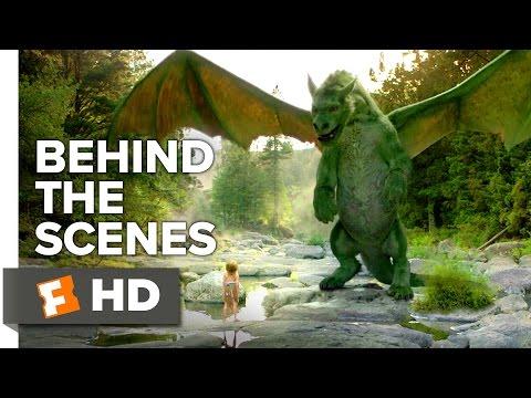 Pete's Dragon Behind the Scenes - Creating Elliot (2016) - Robert Redford Movie