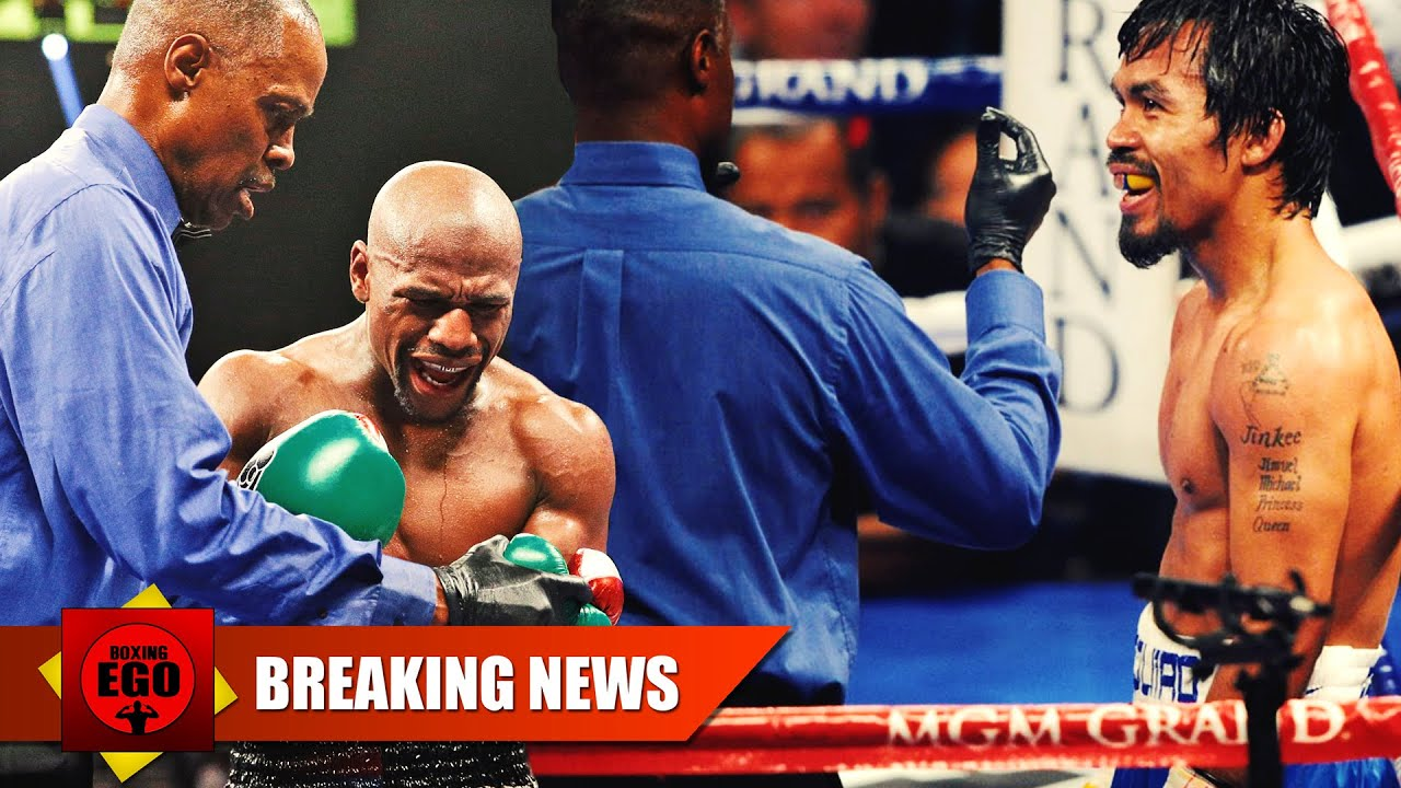 MAYWEATHER VS PACQUIAO REFEREE KENNY BAYLESS – JUDGES ALSO REVEALED ...