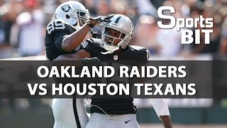 Sports BIT | Oakland Raiders vs Houston Texans | NFL Picks