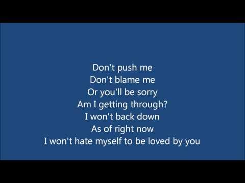 Johnny Falls by Hedley lyrics