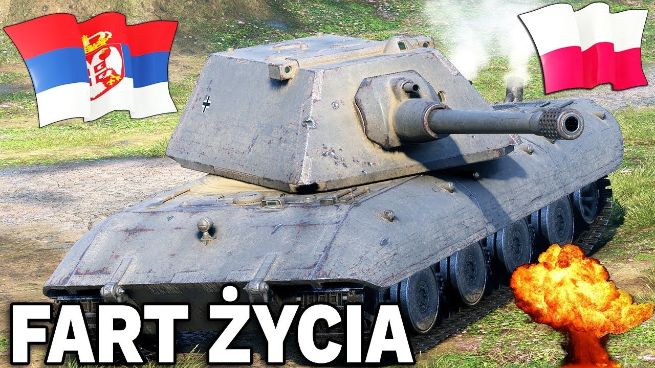 FART ŻYCIA – Polska vs Serbia – World of Tanks