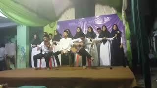 Ini adalah pertama kali Santri PP Shirathu Al Rahman pentas musikal...