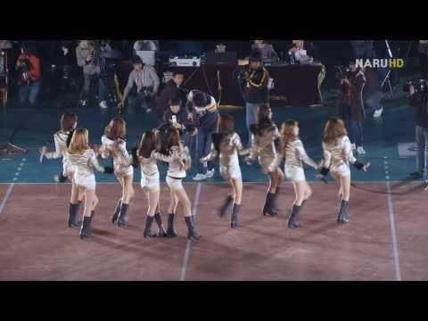 [Fancam] 091119 SNSD - Chocolate Love@NH Nonghyup 2009-2010 V-League