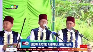 live ulang Group Nasyid AHBABUL MUSTHAFA  pada Resepsi perkawinan RUSMIATI & MUHAMMAD SAPRAN