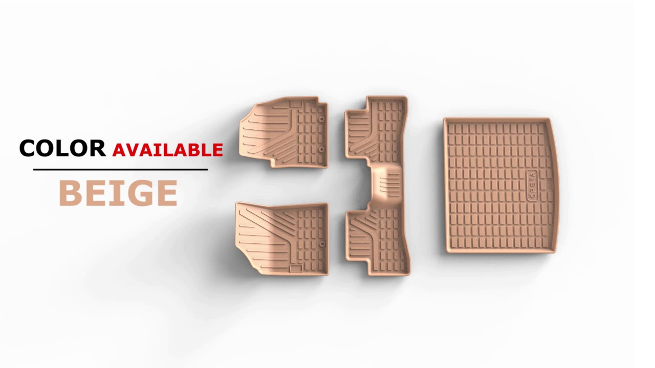 JSG AUTOMOTIVE CAR MATS 2020