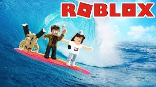 Epic Tsunami Survival | Roblox Natural Disasters