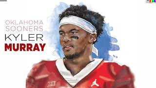 Speed Drawing: Kyler Murray wins Heisman Trophy
