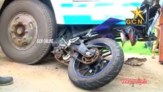 Accident@puthuval | 2 students died|pathanapuram|GCN Online
