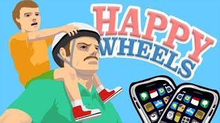 Happy Wheels - Обзор Мобильной Версии (iOS)