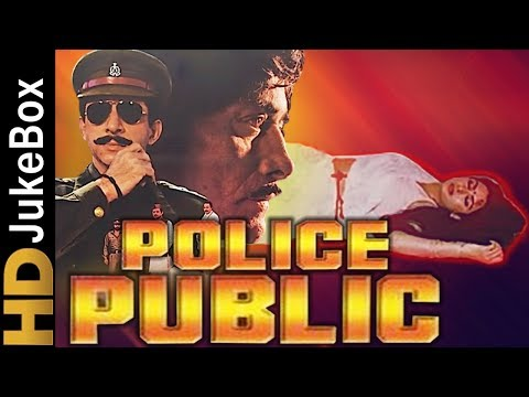 Police Public 1990 | Full Video Songs Jukebox | Raaj Kumar, Naseeruddin Shah, Poonam Dhillon