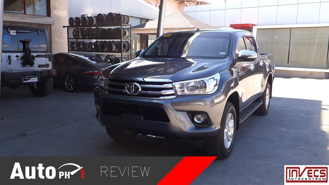 2016 Toyota Hilux 2 4g Used Car Review Philippines