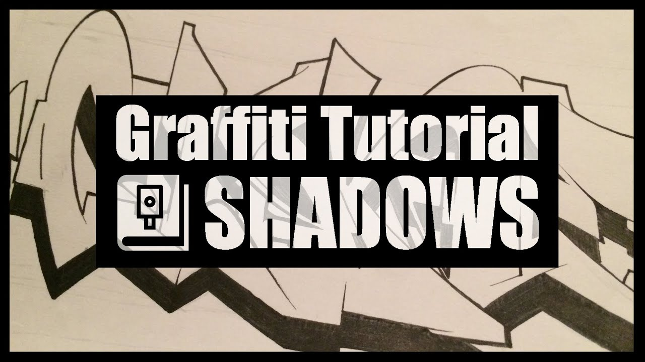 How to do shadows graffiti tutorial clone blackbookology