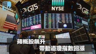 蘋概股飆升,帶動道瓊指數回漲(《華爾街電視新聞》2018年2月23日)
