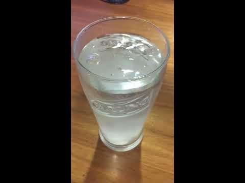 Paracetamol And Codeine Dissolving In Water