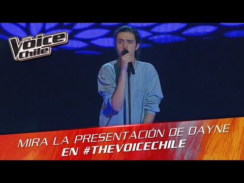The Voice Chile   Dayne Harris -  Sunday Morning