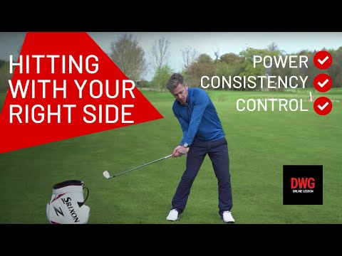 Hitting With Your Right Side For MORE POWER, CONSISTENCY And CONTROL