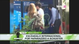 Escándalo en Argentina por paparazzeo a Augusto Schuster