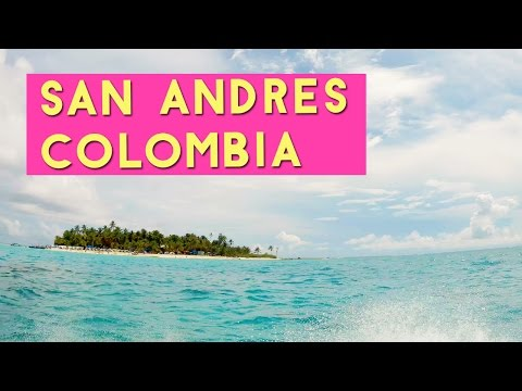 Isla San Andres Colombia 2017 with SJcam SJ5000x Elite Underwater