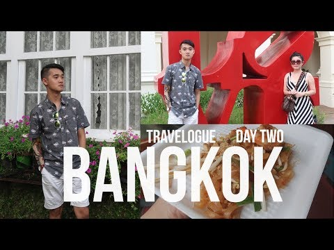 Bangkok Travel Vlog (Part 2) - Floating Market, Chocolate Ville Thailand