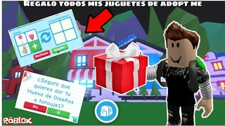 GIFT ALL MY ADOPT TOYS [SOCIAL EXPERIENCE] [ME INSULTAN]/ROBLOX