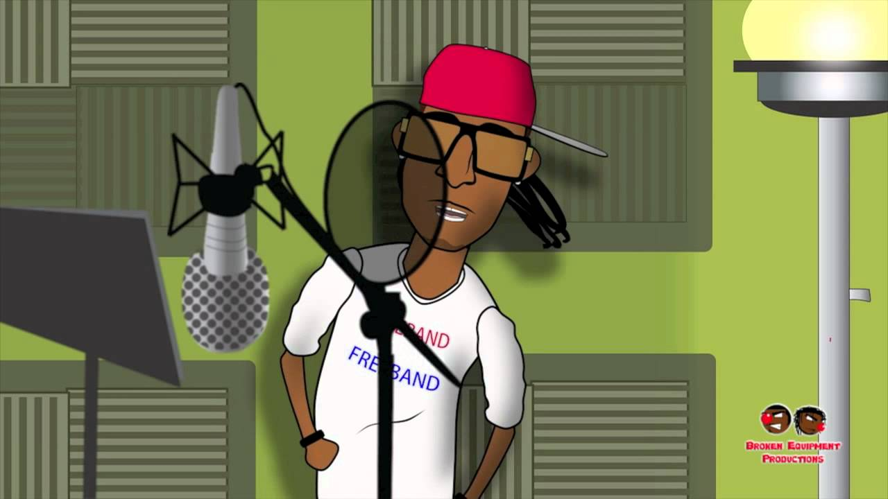 A Z Cartoon Characters Rap : Future in the studio cartoon by filnobep youtube