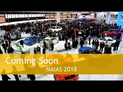 NAIAS 2018 Show Dates North American International Auto Show