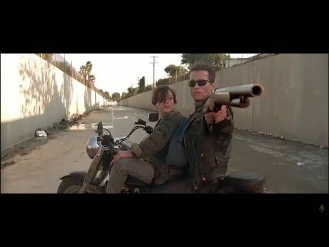 Terminator 2 - Motorcycle Chase [HD]