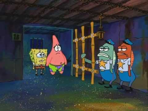 SpongeBob SquarePants - If you can't do the Time don't do the Crime