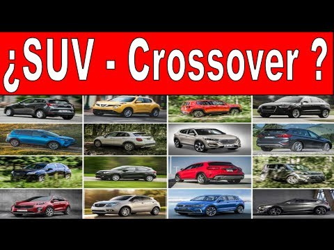 """SUV"" o ""CrossOver"", ¿Sabes distinguirlas? mexico / noticias /  comparar"