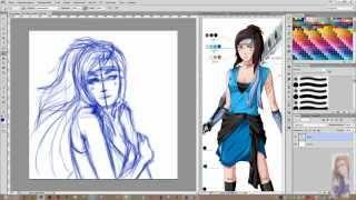 Рисование в стиле аниме в Photoshop CS6