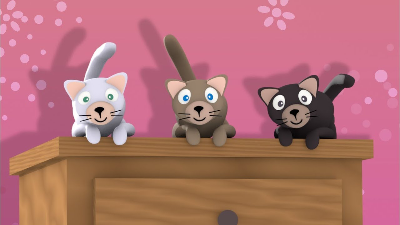 trois petits chats youtube. Black Bedroom Furniture Sets. Home Design Ideas