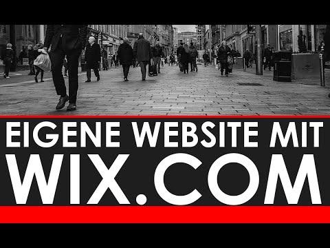 Wix.com EIGENE WEBSITE ERSTELLEN- KOSTENLOS,  GANZ EINFACH, SCHNELL