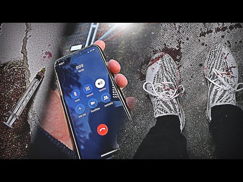 HOMLESS GUY THROWS UP BLOOD ON MY $500 SHOES! IN ABANDONED PLACE! I GO MAD! FOOTAGE!
