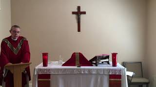 9 16 20 Daily Mass at St  Joseph's