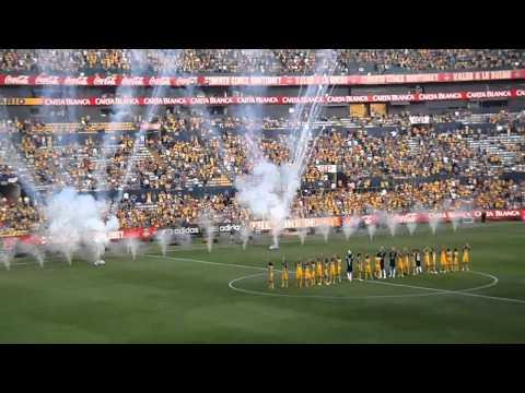 PRESENTACION  De  Tigres  Para Los Que No Fueron!! Apertura Liga MX 2012