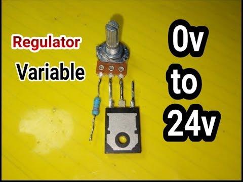 Simple !!! Voltage regulator