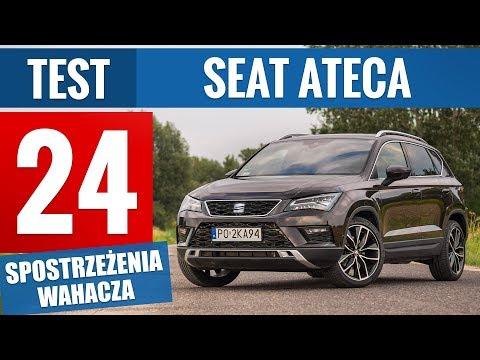 Seat Ateca 2.0 TSI 190 KM DSG Xcellence (2019) - TEST PL
