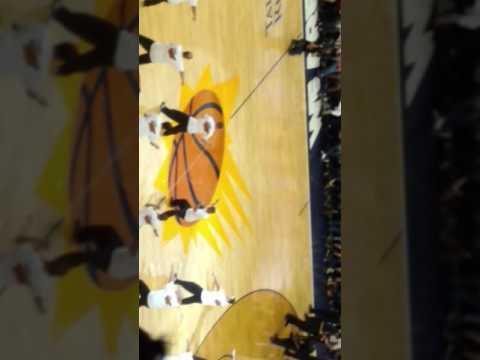 Phoenix Suns dancing dad's