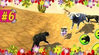 ОХОТА НА ЗВЕРЕЙ В ПУСТЫНЕ симулятор пантеры игра для детей #6