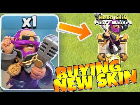 BUYING NEW D.J. WARDEN SKIN!!! (Part 1)