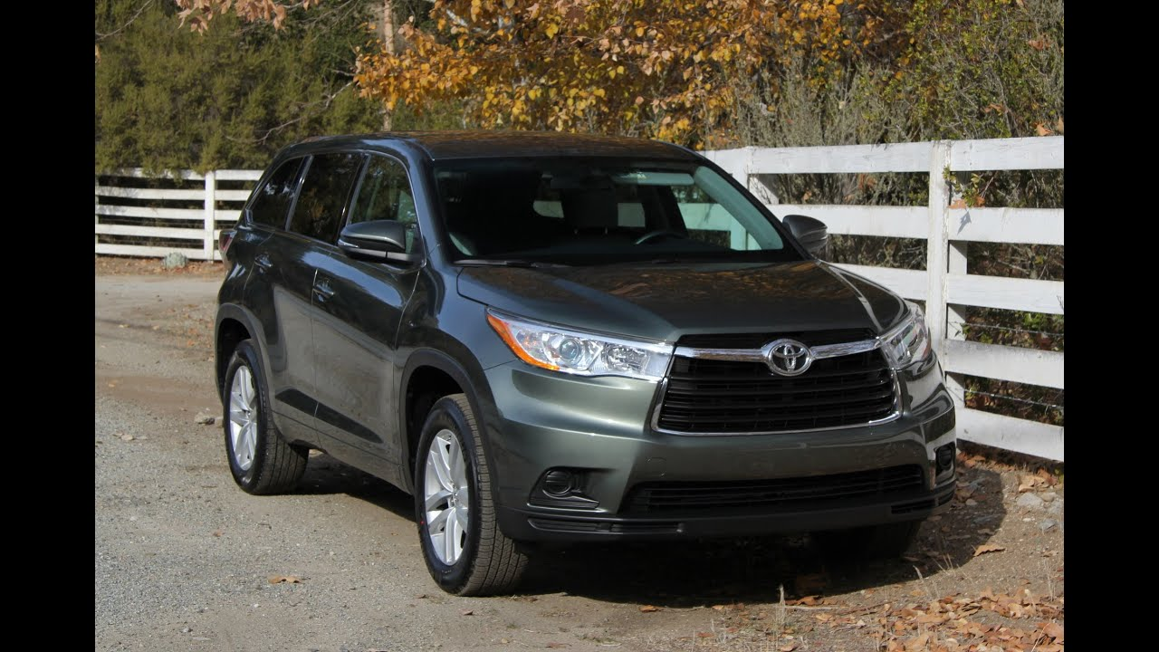 2017 Toyota Highlander First Drive Review And Road Test